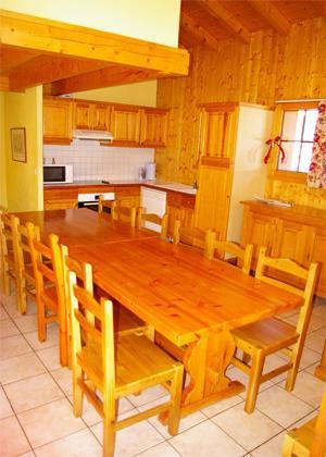 Vacances en montagne Chalet 7 pièces 12-13 personnes (DGB) - Les Chalets De La Tania - La Tania - Coin repas
