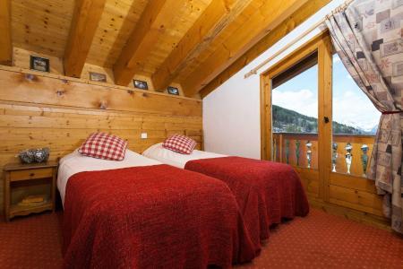 Vacances en montagne Les Chalets De La Tania - La Tania - Lits twin
