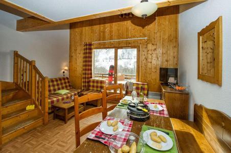 Vacances en montagne Les Chalets de Saint Sorlin - Saint Sorlin d'Arves - Salle à manger