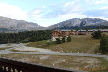 Аренда на лыжном курорте Апартаменты 3 комнат 4 чел. (BL23) - Les Chalets de SuperD Bleuet - Superdévoluy - летом под открытым небом