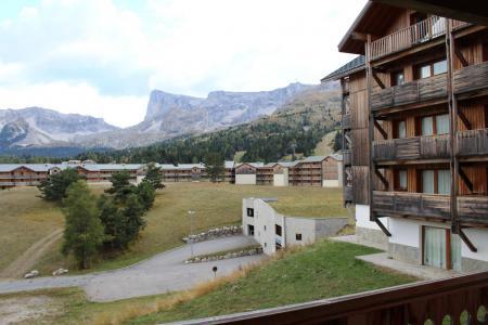 Аренда на лыжном курорте Апартаменты 2 комнат 6 чел. (BL22) - Les Chalets de SuperD Bleuet - Superdévoluy - летом под открытым небом