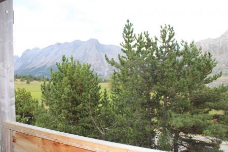 Аренда на лыжном курорте Апартаменты 2 комнат 6 чел. (BL14) - Les Chalets de SuperD Bleuet - Superdévoluy - летом под открытым небом