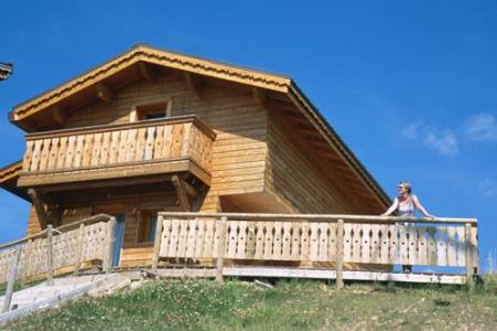 Location au ski Les Chalets Des Alpages - La Plagne - Extérieur été