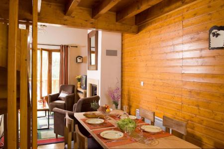 Vacances en montagne Les Chalets du Diva - Isola 2000 - Coin séjour