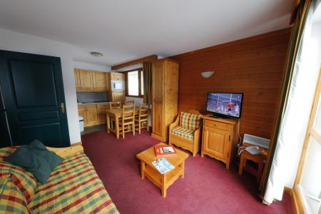 Holiday in mountain resort 2 room apartment 4 people (216) - Les Chalets du Galibier - Valloire - Coffee table