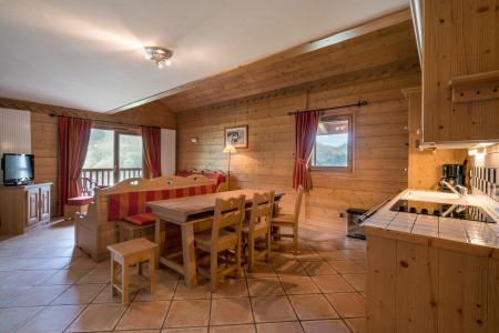 Vacances en montagne Appartement 4 pièces 6 personnes (A03) - Les Chalets du Gypse - Saint Martin de Belleville - Logement