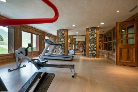 Vacances en montagne Les Chalets du Gypse - Saint Martin de Belleville - Espace fitness