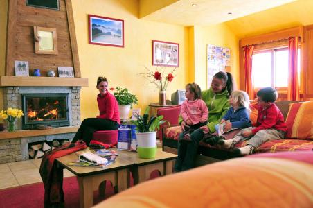 Vacances en montagne Les Chalets Goélia - La Toussuire - Réception