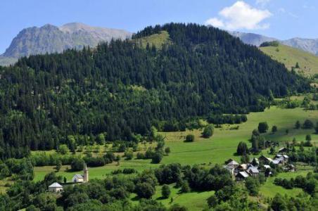 Location au ski Les Chalets Goelia - La Toussuire - Extérieur été