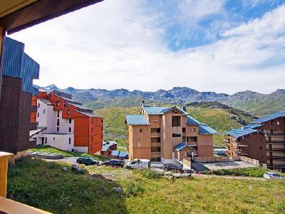 Rent in ski resort 1 room apartment 4 people (20) - Les Cîmes de Caron - Val Thorens - Summer outside