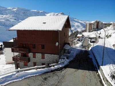 Location au ski Les Côtes d'Or Chalet Courmayeur - Les Menuires - Extérieur été