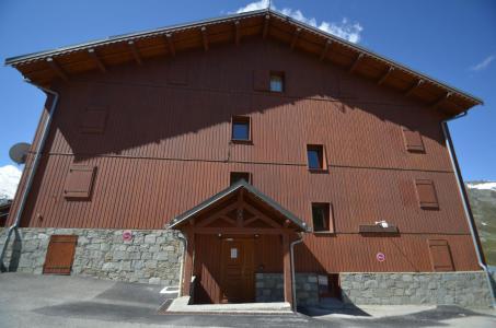 Rent in ski resort Les Côtes d'Or Chalet Courmayeur - Les Menuires - Summer outside