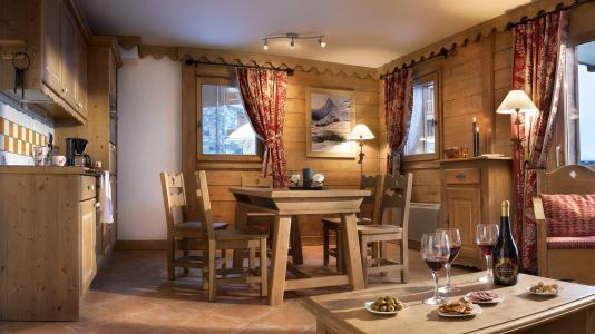 Vacances en montagne Les Granges du Soleil - La Plagne - Coin repas