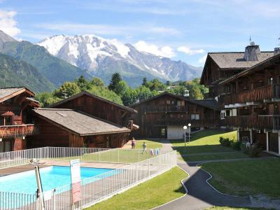 Rent in ski resort 1 room apartment 4 people (4) - Les Grets - Saint Gervais - Summer outside