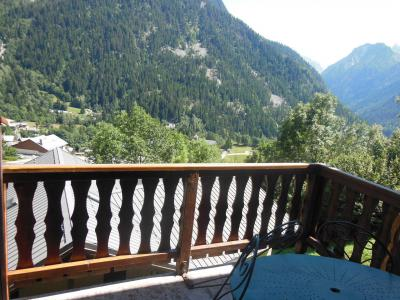 Rent in ski resort 3 room duplex apartment 6 people (D023CL) - Les Hauts de Planchamp - Campanule - Champagny-en-Vanoise - Summer outside
