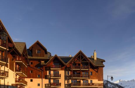 Location au ski Les Hauts de Valmeinier - Valmeinier - Extérieur été