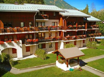 Rent in ski resort 1 room apartment 2 people (2) - Les Jardins du Mont-Blanc - Chamonix - Summer outside