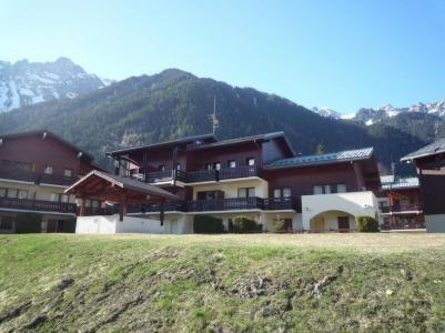 Rent in ski resort 1 room apartment 4 people (4) - Les Jardins du Mont-Blanc - Chamonix - Summer outside