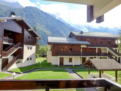 Rent in ski resort 3 room apartment 4 people (5) - Les Jardins du Mont-Blanc - Chamonix - Summer outside