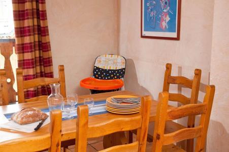 Vacances en montagne Les Lodges des Alpages - La Plagne - Coin repas