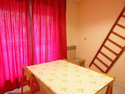 Holiday in mountain resort 2 room duplex apartment sleeping corner 5 people (7) - Les Olympiques - Tignes - Curtain to close