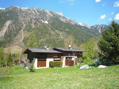 Rent in ski resort 3 room apartment 4 people (2) - Les Pelarnys - Chamonix - Summer outside