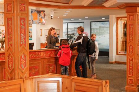 Vacances en montagne Les Résidences du Val Claret - Tignes - Réception