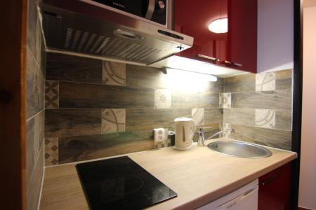 Holiday in mountain resort Studio cabin 4 people (12H) - Les Temples du Soleil Cuzco - Val Thorens - Kitchenette