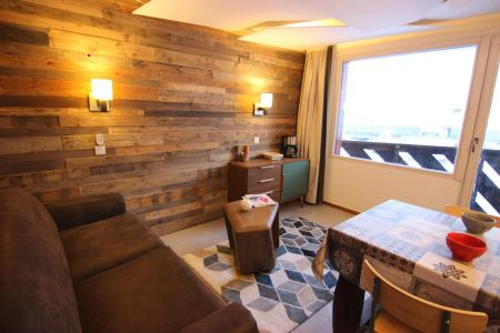 Holiday in mountain resort Studio cabin 4 people (12H) - Les Temples du Soleil Cuzco - Val Thorens - Living room