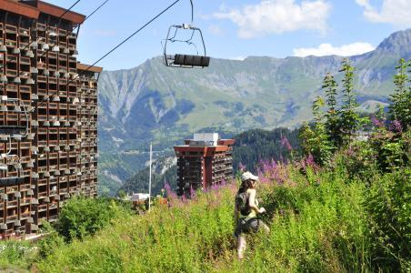 Location au ski Les Terrasses du Corbier - Le Corbier - Extérieur été