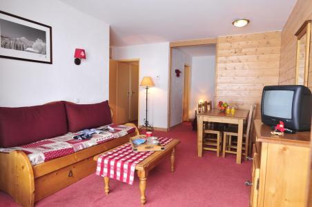Vacances en montagne Les Terrasses du Corbier - Le Corbier - Banquette-lit