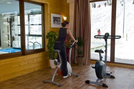 Vacances en montagne Les Terrasses du Corbier - Le Corbier - Espace fitness