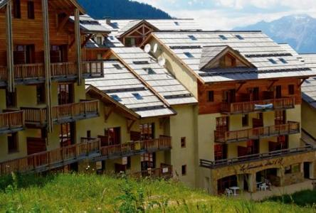 Location au ski Les Terrasses Du Soleil D'or - Les Orres - Extérieur été