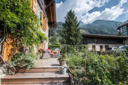 Rent in ski resort Maison Alpie - Chamonix - Summer outside