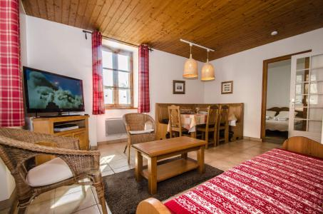 Holiday in mountain resort 3 room apartment 4 people - Maison de Pays Trevougni - Chamonix - Living room