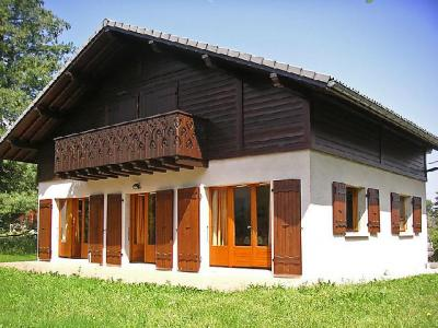 Rent in ski resort 5 room chalet 12 people (1) - Mendiaux - Saint Gervais - Summer outside