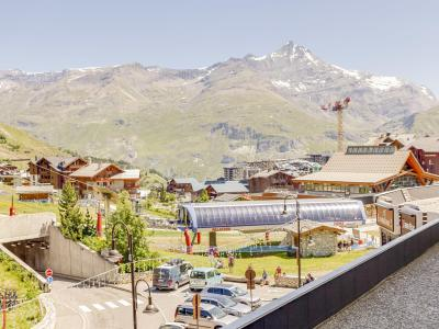 Rent in ski resort 1 room apartment 2 people (3) - Palafour - Tignes - Summer outside