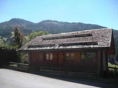 Rent in ski resort 3 room chalet 3 people - Petit Chalet - Le Grand Bornand - Summer outside
