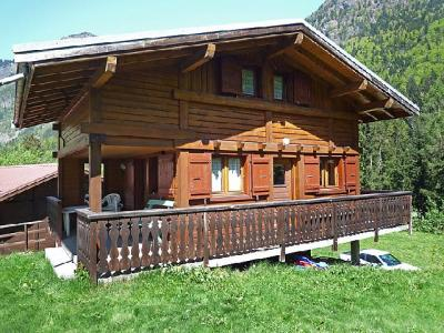 Rent in ski resort 3 room chalet 6 people (1) - Pierre Blanche - Les Houches - Summer outside