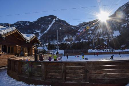 Vacances en montagne Studio coin montagne 4 personnes (003) - Résidence Aiglon - Serre Chevalier