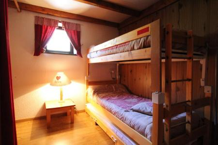 Urlaub in den Bergen Mezzanin-Studio für 4 Personen (072) - Résidence Aiglon - Val Cenis - Offener Schlafbereich
