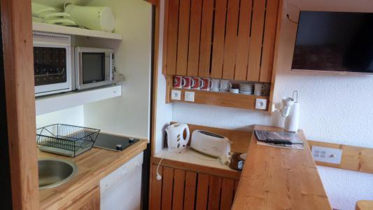 Vacances en montagne Appartement 2 pièces mezzanine 6 personnes (1406) - Résidence Aiguille Grive Bat I - Les Arcs - Kitchenette