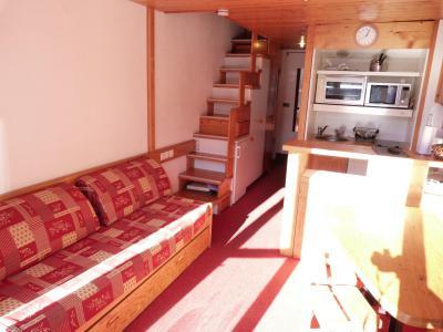 Vacances en montagne Appartement 2 pièces mezzanine 6 personnes (1406) - Résidence Aiguille Grive Bat I - Les Arcs - Séjour