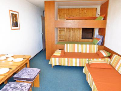 Holiday in mountain resort Studio sleeping corner 4 people (A2F119) - Résidence Aime 2000 - Flèche - La Plagne - Living room