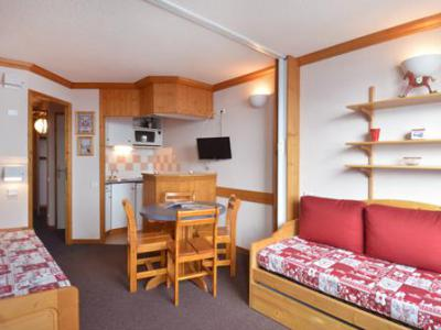 Holiday in mountain resort Studio 4 people (A2O148) - Résidence Aime 2000 - le Diamant - La Plagne - Living room