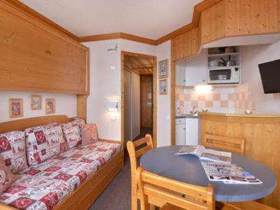 Holiday in mountain resort Studio 4 people (A2O148) - Résidence Aime 2000 - le Diamant - La Plagne - Pull-out sofa