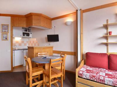 Holiday in mountain resort Studio 4 people (A2O148) - Résidence Aime 2000 - le Diamant - La Plagne - Table