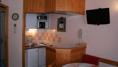 Holiday in mountain resort Studio 4 people (38) - Résidence Aime 2000 Paquebot des Neiges - La Plagne