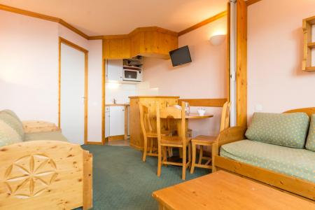 Holiday in mountain resort Studio 4 people (131) - Résidence Aime 2000 Paquebot des Neiges - La Plagne