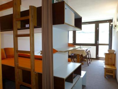 Holiday in mountain resort Studio 4 people (A2H26) - Résidence Aime 2000 Zénith - La Plagne - Bunk beds